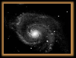 M51 Whirlpool galaxy in Ursa Major
